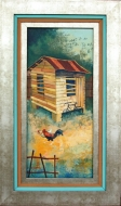 Old House with Fowl