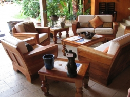 Mexican Teak Chairs