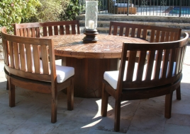 cc-treasure-beach-teak-outdoor-6ft-round-dining-table-with-curved-teak-benches-1