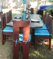 cc-treasure-beach-log-dining-table-with-spaces-dining-chairs