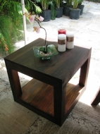 Double stack side table