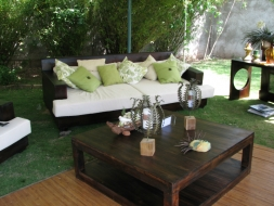 Sambucca Sofa with double stack coffee table